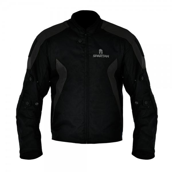 Spartan Short Jacket All Black