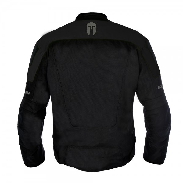 Spartan Short Jacket All Black