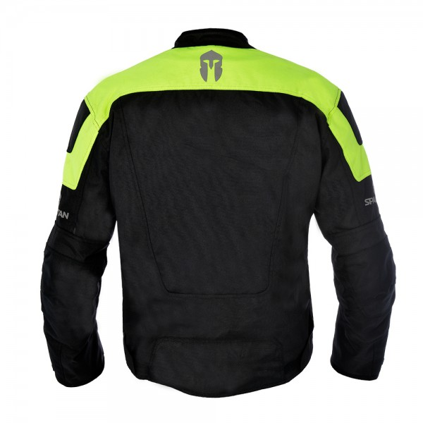 Spartan Short Jacket Black & Fluo