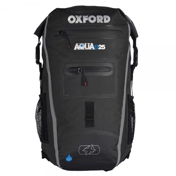 Oxford Aqua B-25 Back Pack  Black & Grey