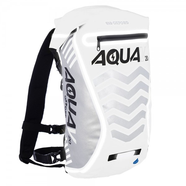Oxford AQUA V 20 BACKPACK - WHITE