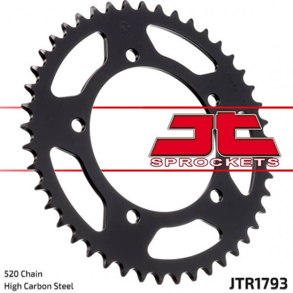 Jt Rear Sprockets R/w 1793-47 Alloy