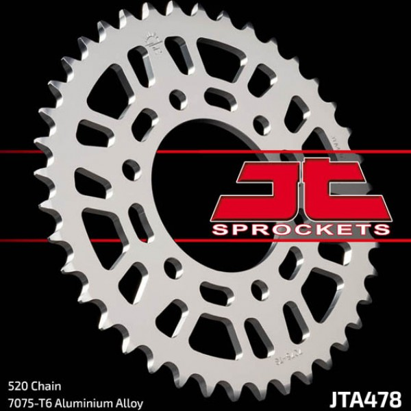 Jt Rear Sprockets R/w 478-40 Alloy