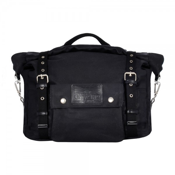 Oxford Heritage Panniers Black 40L
