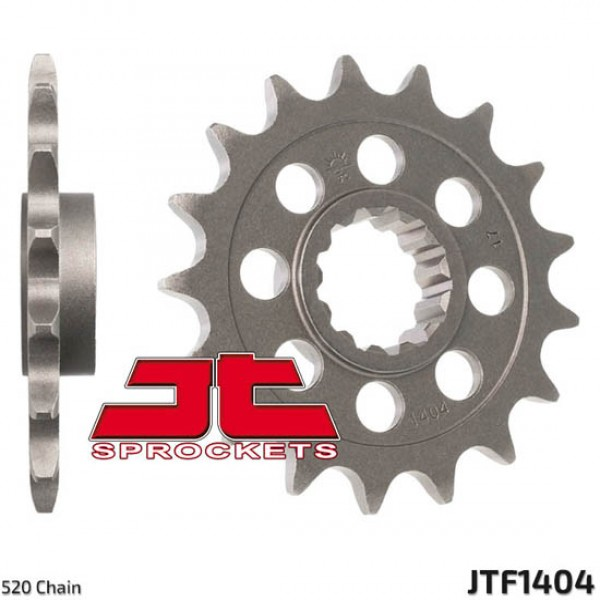 Jt Gear BOX Sprockets G/b 1404-17