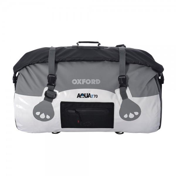 Oxford AQUA T-70 ROLL BAG - WHITE/GREY