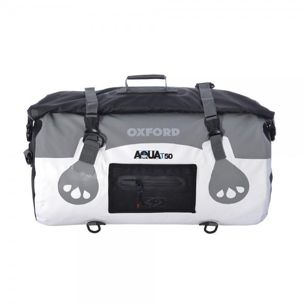 Oxford AQUA T-50 Roll Bag (White / Grey)