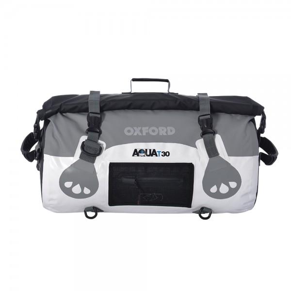 Oxford AQUA T-30 Roll Bag (White / Grey)