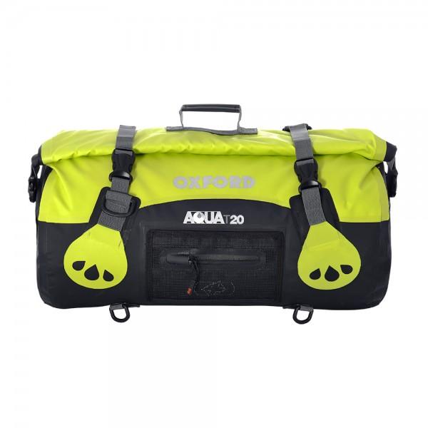 Oxford AQUA T-20 Roll Bag (Black / Fluo)