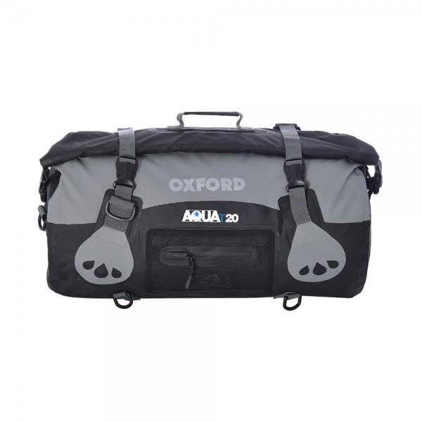 Oxford AQUA T-20 Roll Bag (Black / Grey)