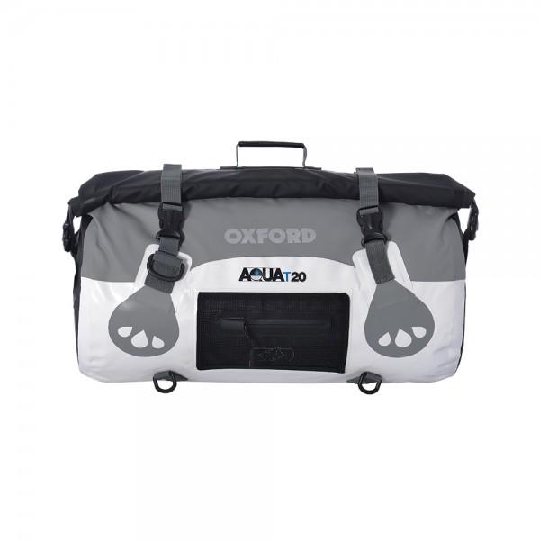 Oxford AQUA T-20 Roll Bag (White / Grey)
