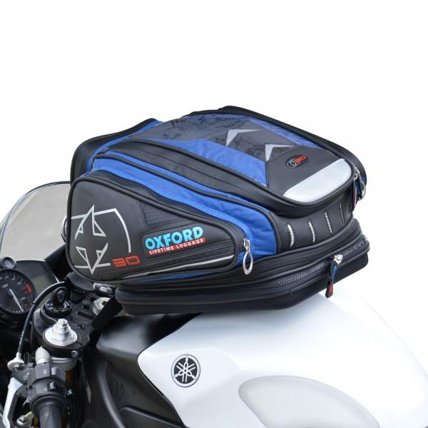 Oxford X30 QR Tank Bag (Blue)