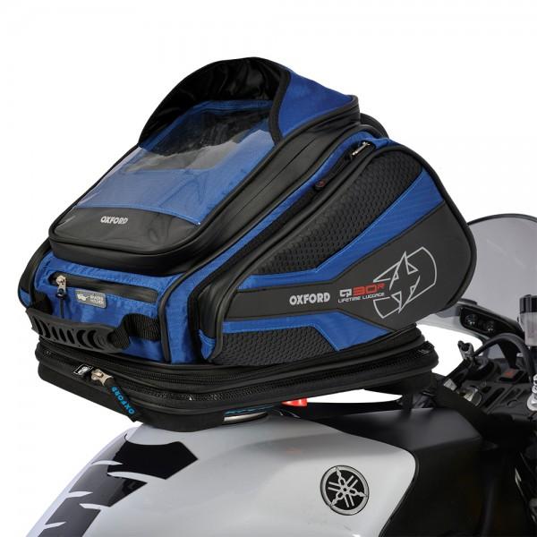 Oxford Q30R Tank Bag (Blue)