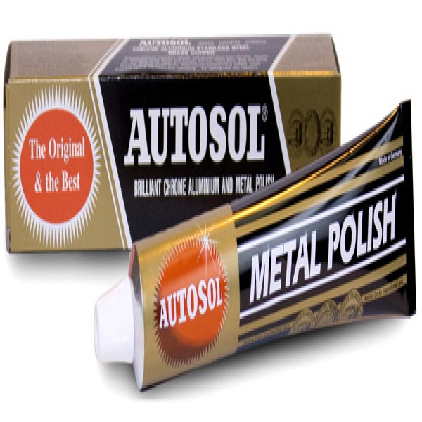 Autosol Chrome Cleaner Paste/tube 75Ml Single