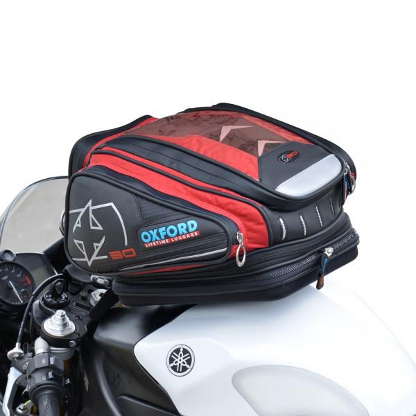 Oxford X30 QR Tank Bag (Red)