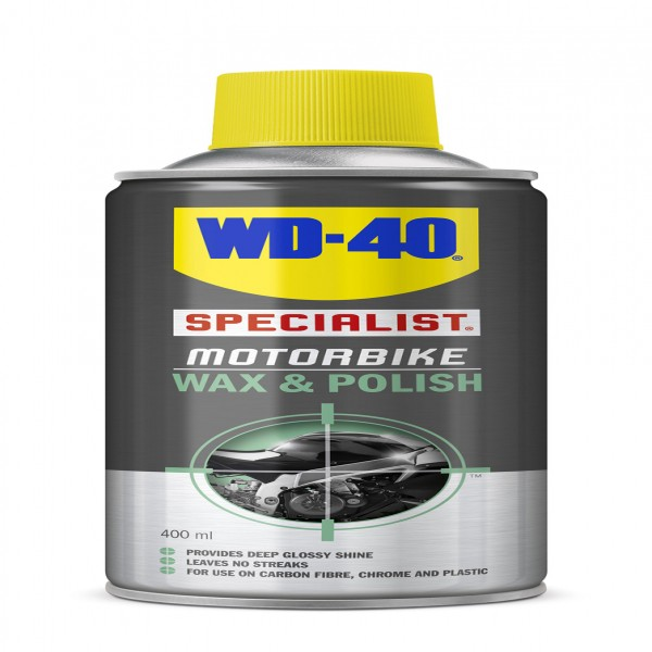 Wd-40 Wax+Polish (400Ml Aerosol) Single