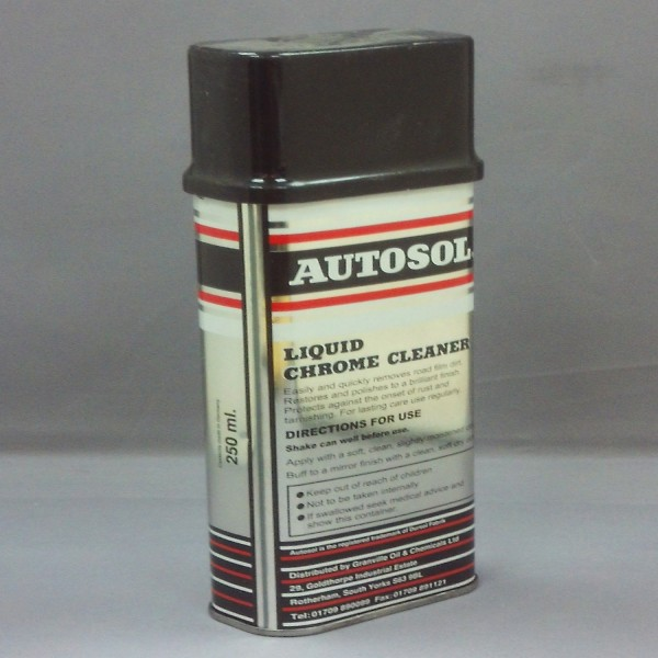 Autosol Chrome Cleaner Liquid 250Ml Single