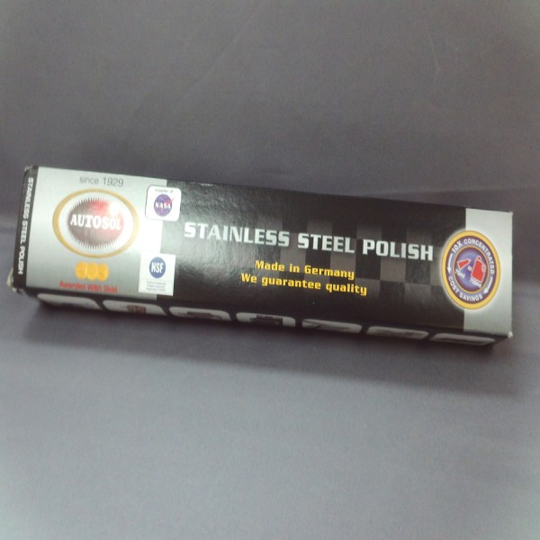 Autosol Stainless Cleaner Paste/tube 75Ml Single