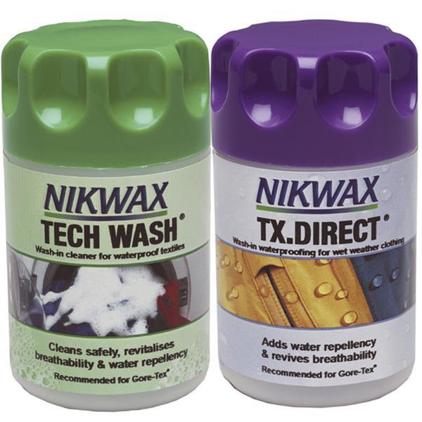 Nikwax Tx Direct Wash In/tech Wash 150Ml Twin [BOX 6]