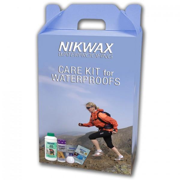 Nikwax Care Kit-For Waterproofs [BOX 6]