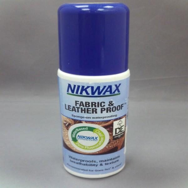 Nikwax Fabric & Leather Proof Spong-On 125Ml Single