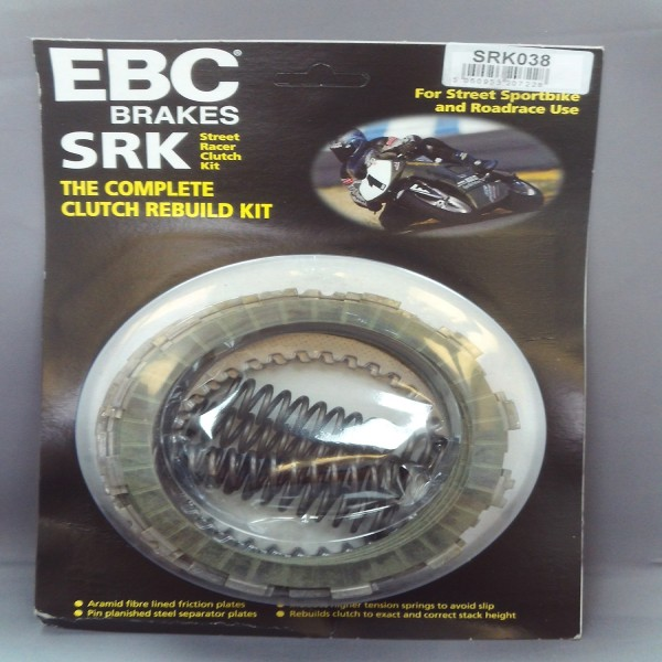 EBC Clutch Kit With Springs & Plates Srk038