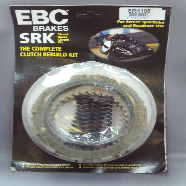 EBC Clutch Kit With Springs & Plates Srk108