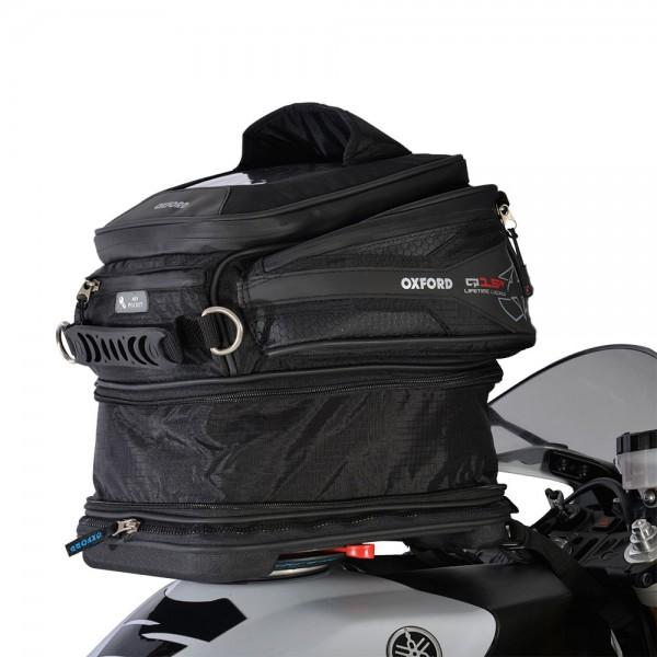 Oxford Q15R Tank Bag (Black)
