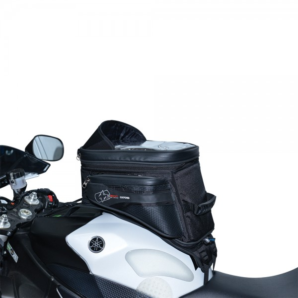 Oxford S20R Adventure Strap On Tank Bag - Black