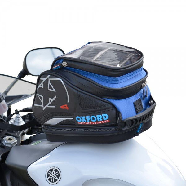 Oxford X4 QR Tank Bag (Blue)