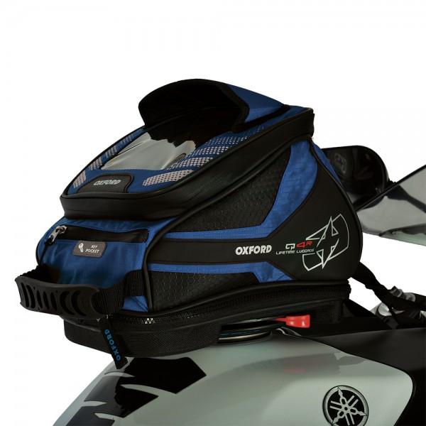 Oxford Q4R Tank Bag (Blue)