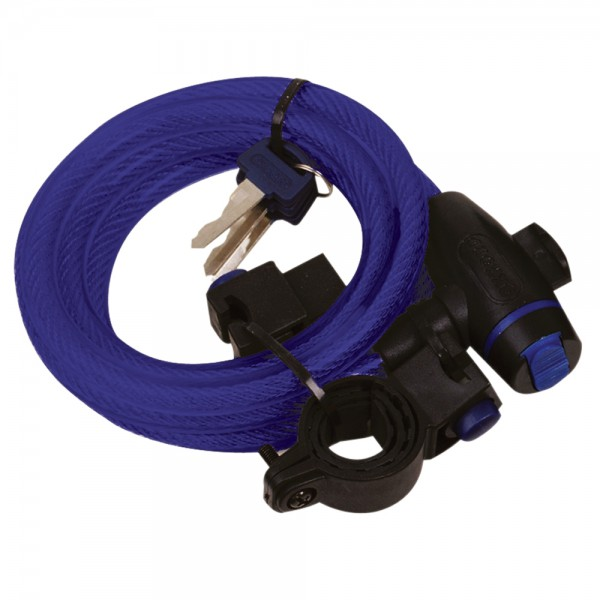Oxford Cable Lock 12mm x 1800mm Blue