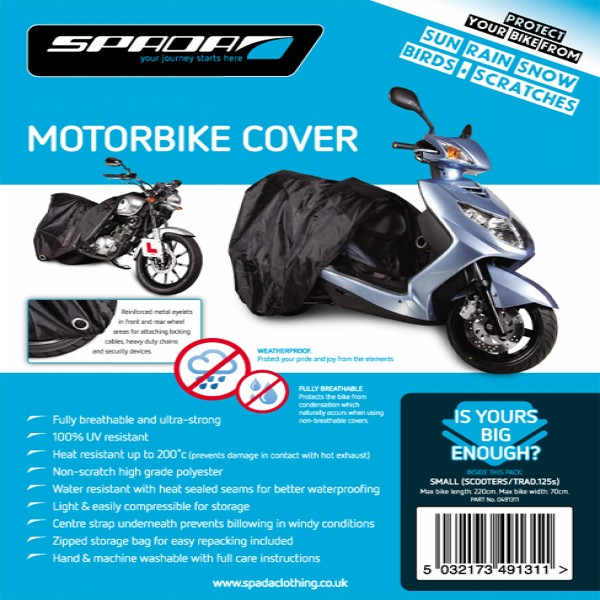 Spada Motorcycle Cover [Scooters/traditional 125]