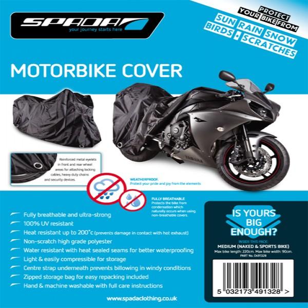 Spada Motorcycle Cover-Medium [Nakeds & Sports Bikes]