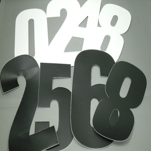 """Competition No.s  No-8  7"""" 287 [Pack Of 10] Black"""