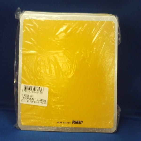 Plastifilm Tw/rear/6/met Alumin. Refl No Plates-6 Fig-Pk-10