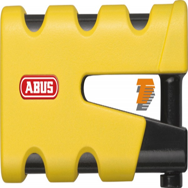 Abus Granit Sledg 77 Grip Yellow Disc Lock 13/45Mm