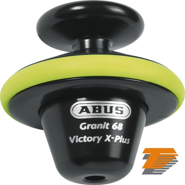 Abus Granit Victory 68 Yellowl Voll Disc Lock 14Mm