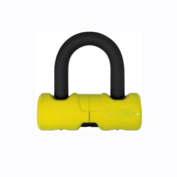 Abus 405 Shackle Lock Yellow