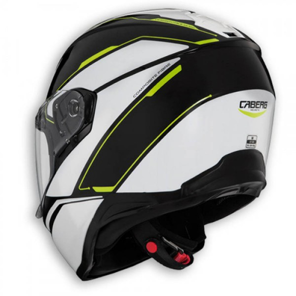 Caberg Drift Tour Black & White & Yellow