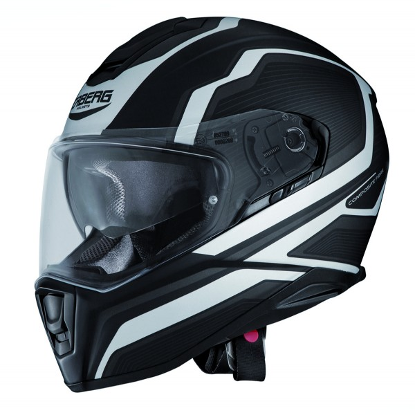 Caberg Drift Flux Matt Black & White