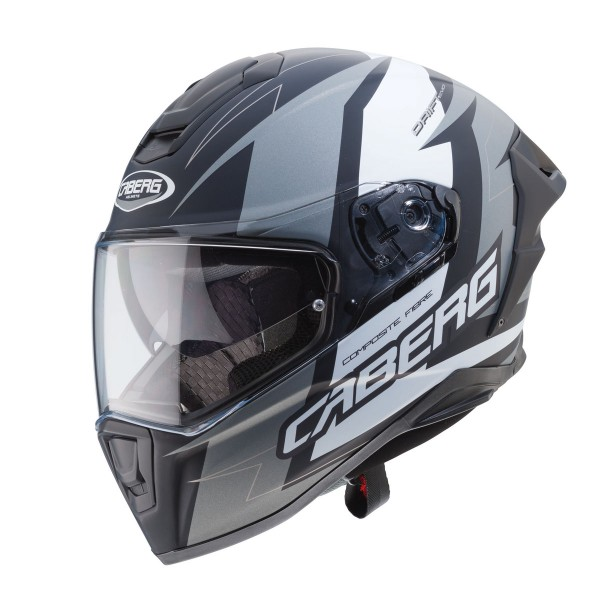 Caberg Drift Evo Speedstar Matt Black & Anthracite & White