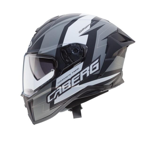 Caberg Drift Evo Speedstar Matt Black & Anthracite & White