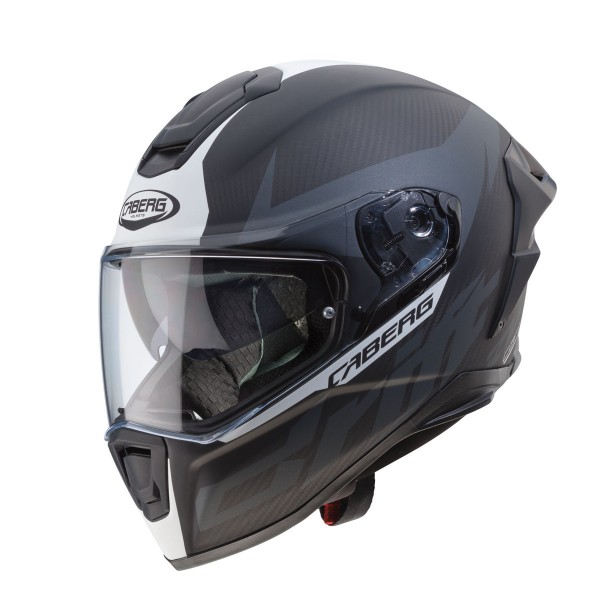 Caberg Drift Evo Carbon Matt Anthracite & White