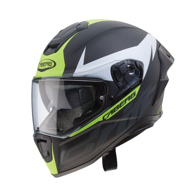 Caberg Drift Evo Carbon Matt Anthracite & Yellow