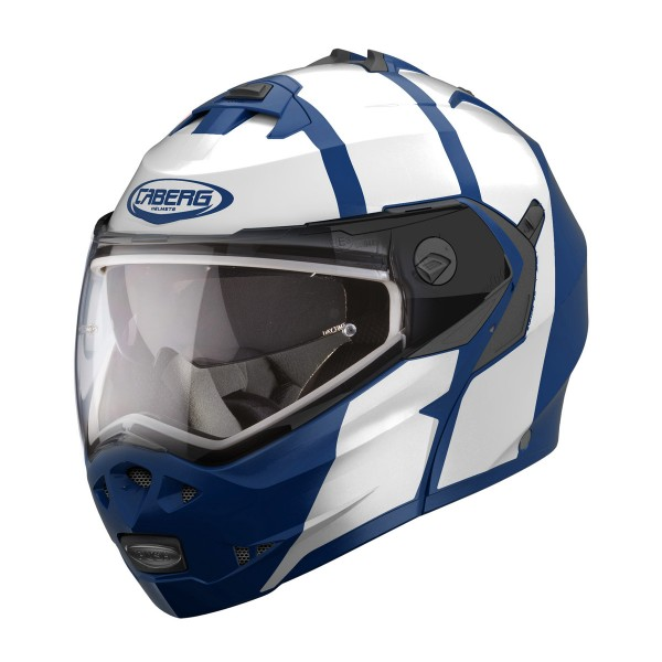 Caberg Duke Ii Impact Matt Blue & White