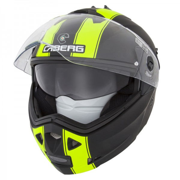 Caberg Duke II Legend Matt Black & Fluo