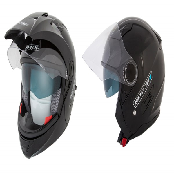 Spada Helmet Duo Gloss Black
