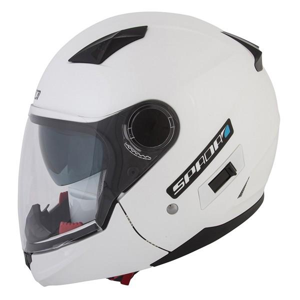 Spada Helmet Duo Pearl White