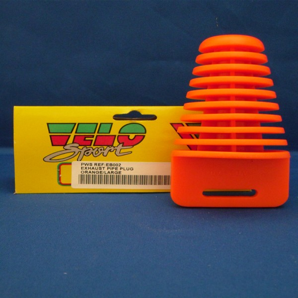 Velo Sport Exhaust Pipe Plug Orange [Eb002]